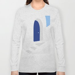 Santorini #01 Long Sleeve T-shirt