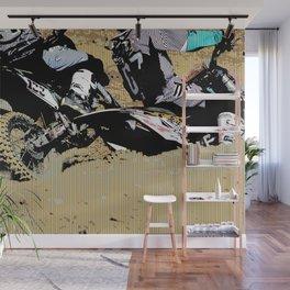 Inside Move - Motocross Racers Wall Mural