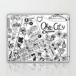 Ohio City Map Laptop & iPad Skin