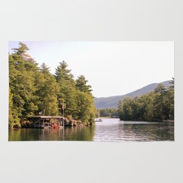 Beautiful Lake George Rug