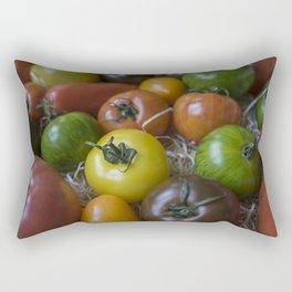 The yellow one Rectangular Pillow