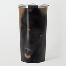 A dog named Bamse Travel Mug