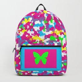 Retro Scribble Backpack