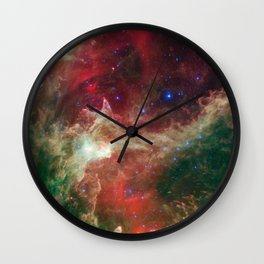 W5 Region Wall Clock
