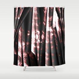 Dark tissue of hopelessness Shower Curtain