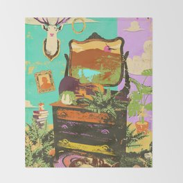 FOREST ROOM Throw Blanket