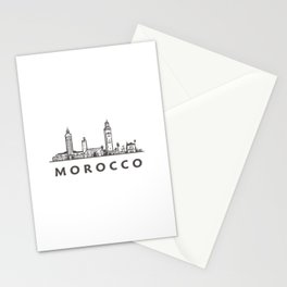 Moroccan Architecture and Mosques Stationery Cards