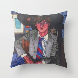 Little Nick Throw Pillow