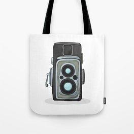 Vintage camera cartoon Tote Bag