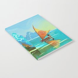 Moana lagoon Notebook