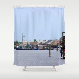 Salt Bayou Shower Curtain