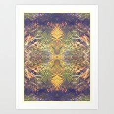 Tropical Kaleidoscope  Art Print