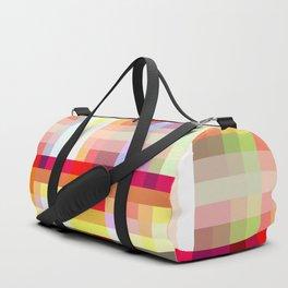 classic retro colorful Nime Duffle Bag