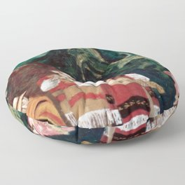 The ANDES             by Kay Lipton Floor Pillow
