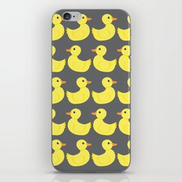 Yellow Duckies iPhone Skin