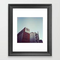 Bank and Trust Framed Art Print