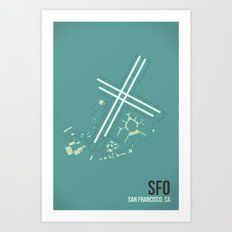 SFO Art Print