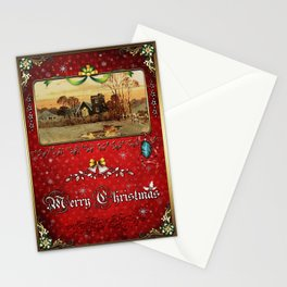 Christmas Vintage 094 Stationery Cards