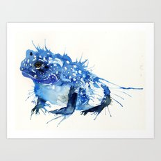 I Feel Blue Art Print