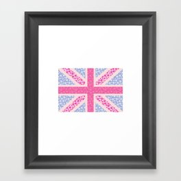 English Rose Framed Art Print