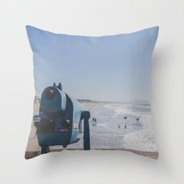 Sight and Surf - Venice Beach, California Throw Pillow