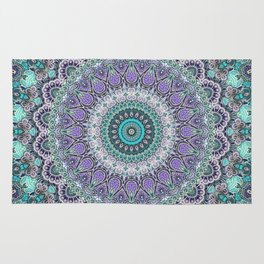 Vintage Lace Mandala Rug