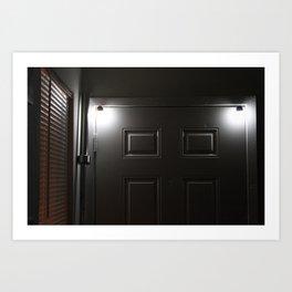 Bar The Door Art Print