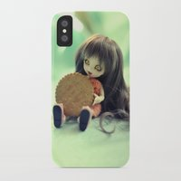 cookie monster iPhone & iPod Cases featuring Cookie Monster  by Aleksandra Piątkowska