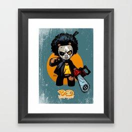 "Bo: Plushy Gangsta ""Friday"" Framed Art Print"