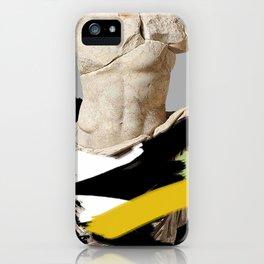 heroic semi-nudity iPhone Case