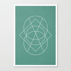 Geometric No.3 Canvas Print