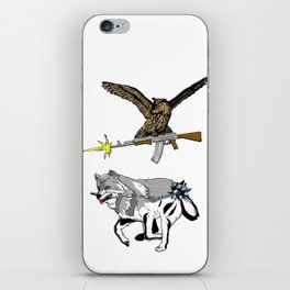 OWL WOLF ALLIANCE 3 iPhone Skin