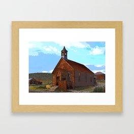 Bodie Church Framed Art Print