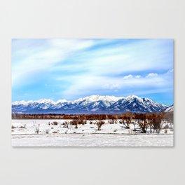 Sayan Mountains Canvas Print