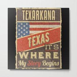 Texarkana Texas Metal Print