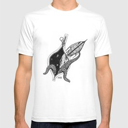 Octupus space T-shirt