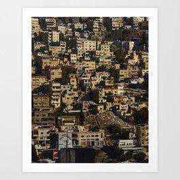 Amman, Jordan Art Print