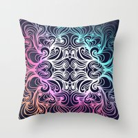 baroque Throw Pillows featuring Baroque by Sproot