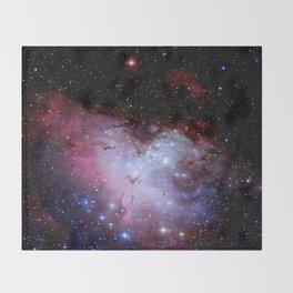 Eagle Nebula / pillars of creation Throw Blanket
