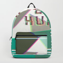 life hurts - aesthetic decorative modern Backpack