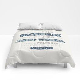 We Are God's Handiwork Comforters