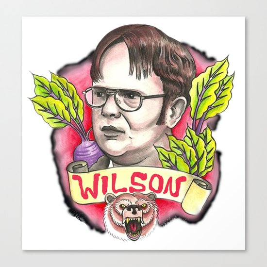 rainn wilson Canvas Print