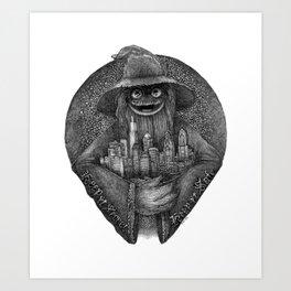 Secret + Safe Art Print