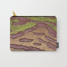 Sparkle Landscape / Abstract Acrylic Painting Carry-All Pouch