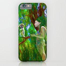 Jungle Connection iPhone Case