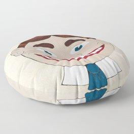 Tillie of Asbury Park NJ Floor Pillow