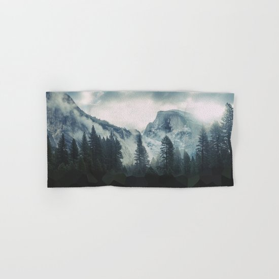 Cross Mountains Hand & Bath Towel