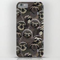Social Sloths iPhone 6 Plus Slim Case