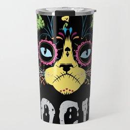 Hocus Pocus Cat - Funny Halloween Cat Travel Mug