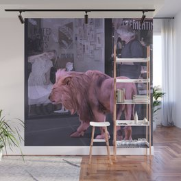 Searching the Beauty. African Invasion Wall Mural